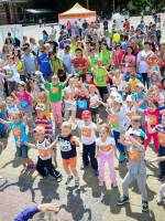 Дитячі забіги на Тернопільському півмарафоні