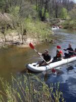 Сплав «Start» по річці Тетерів