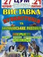 Виставка пухнастиків та африканських равликів
