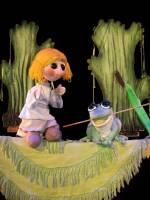 Дитяча вистава Царівна жаба в Київському театрі ляльок