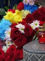 Панахида за загиблими героями російсько-української війни та освячення пам'ятників