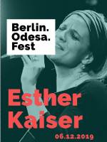 Концерт Berlin. Odesa. Jazz: Esther Kaiser