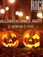 Halloween вечірка Dance party у RICH