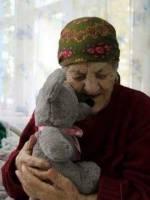 Благодійна акція на підтримку стареньких та одиноких людей хоспісу