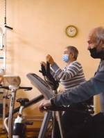 Спеціальний тренажерний зал для жителів громади літнього віку