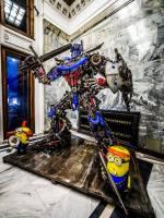 Виставка сталевих фігур у Києві