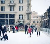 Різдвяна ковзанка на площі Ринок